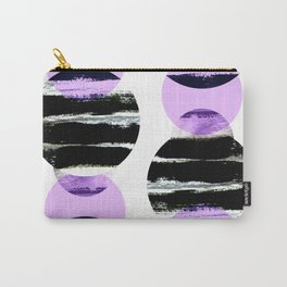 moonlight geometric design Carry-All Pouch