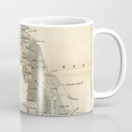 Vintage and Retro Geological Map British Isles Coffee Mug