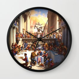 Once upon a time Poster Logic Wall Clock