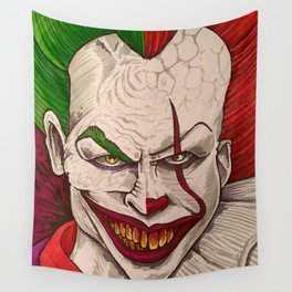 Killer Clowns Wall Tapestry