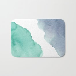Watercolor Drops Bath Mat