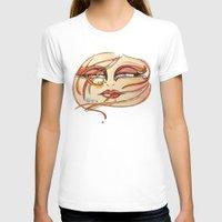 grafitti T-shirts featuring Eyes! Watercolor, acuarela by Carol Mota