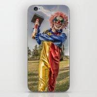 clown iPhone & iPod Skins featuring CLOWN by Steve Zar