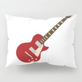 Gibson Les Paul Red Pillow Sham