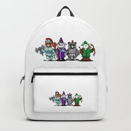 The Four Funny Bears With Costume Backpack