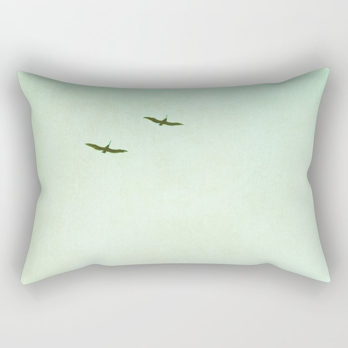 Two of a Kind Rectangular Pillow