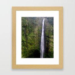 Hawaiian Waterfall Framed Art Print