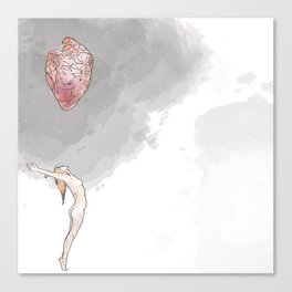 Comic Love Canvas Print