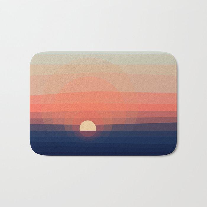 Colors Sunset Bath Mat