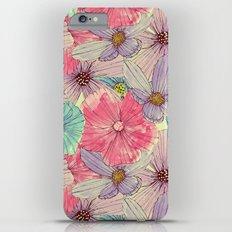Watercolour Flowers iPhone 6 Plus Slim Case