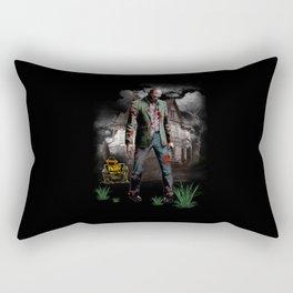 Halloween zombie Rectangular Pillow