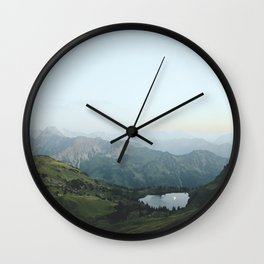 Abyssal landscape photography Wall Clock