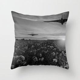Poppy Vulcan Throw Pillow