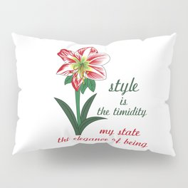 Amarillis Pillow Sham