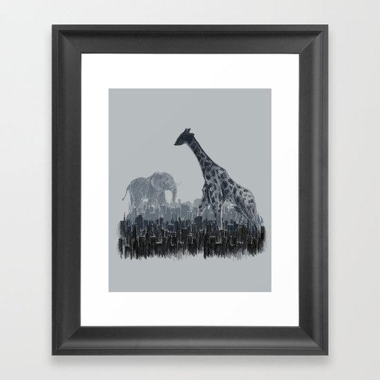 The Tall Grass Framed Art Print