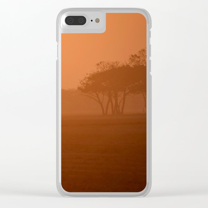 Morning activity #7 Clear iPhone Case