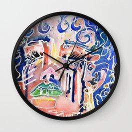 The Blue Queen Wall Clock
