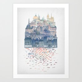 Serenissima - Venice in the Evening Art Print