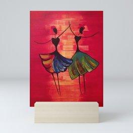 SHALL WE DANCE Mini Art Print