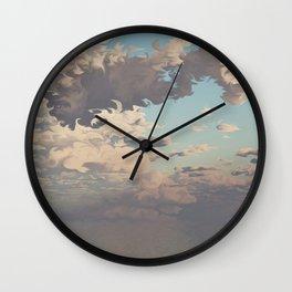 Water Meets Sky (Cloud series#10) Wall Clock