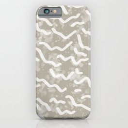 Low Tide | Sand iPhone Case