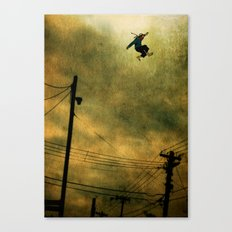 The Jumper Canvas Print