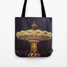 Night Spin Tote Bag