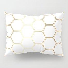 Honeycomb - Gold #170 Pillow Sham