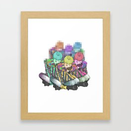 GD is awesome Framed Art Print