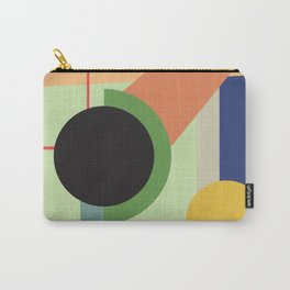 Abstract geometric composition study- Space Carry-All Pouch
