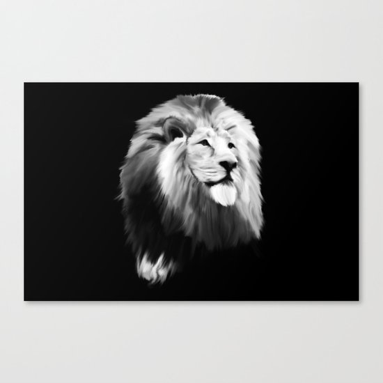 Leo king Canvas Print