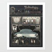 Scene #07: 'The Secret' Art Print