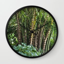 Palm Grove Wall Clock