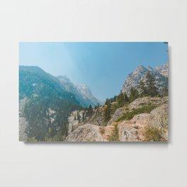 Cascade Canyon, Grand Teton National Park Metal Print