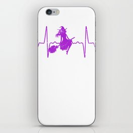 Heartbeat Witch iPhone Skin