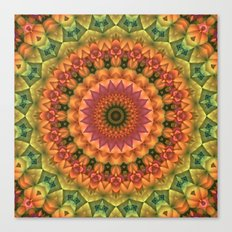 Another Day, Another Mandala Canvas Print