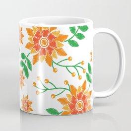 Berries Leaves and Flowers Coffee Mug