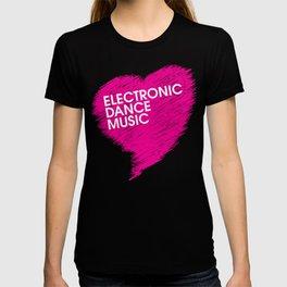 Electronic Dance Music Heart T-shirt