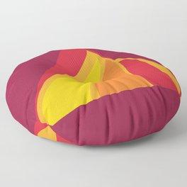 SALAMANDER- FIRE Floor Pillow
