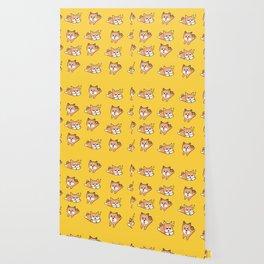 Mustard Shiba Wallpaper