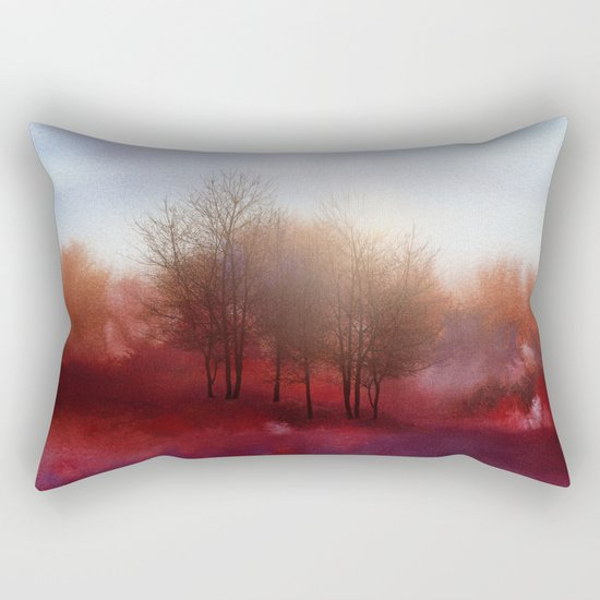Calling The Sun XIV Rectangular Pillow