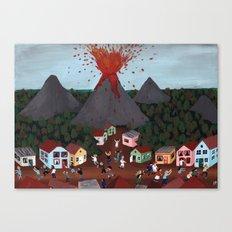 Volcanic Event Canvas Print