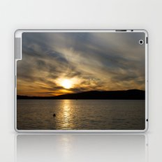 Let's watch the sun go down Laptop & iPad Skin