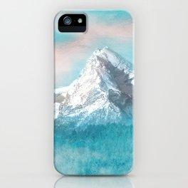 MOUNTAIN SCAPES   Watzmann iPhone Case