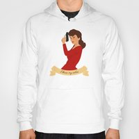 peggy carter Hoodies featuring Peggy Carter: I know my value. by semisweetshadow