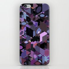 Panelscape: colours from Eye of the Beholder  iPhone Skin