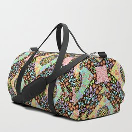Boho Chic Patchwork Duffle Bag