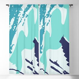 Distressed Abstract Vector Patterns Blackout Curtain