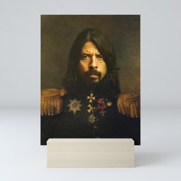 Dave Grohl - replaceface Mini Art Print