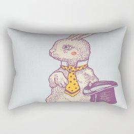 magic Rabbit Rectangular Pillow